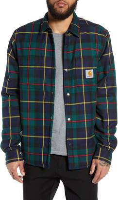 Carhartt Work In Progress Raynor Lined Flannel Shirt Jacket