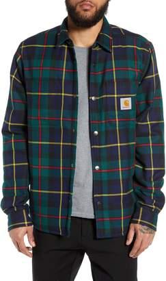 Carhartt Work In Progress Raynor Lined Flannel Shirt Jacket