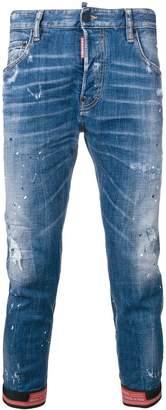 DSQUARED2 motocross biker jeans