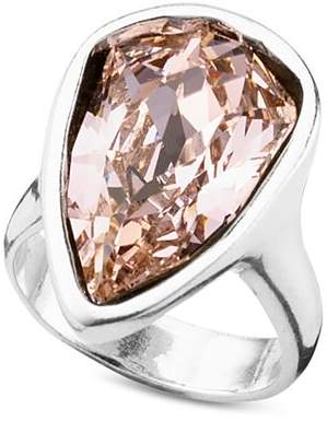 Uno de 50 Strut Crystal Statement Ring