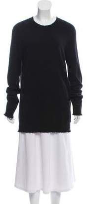 Balmain Cashmere Long Sleeve Sweater black Cashmere Long Sleeve Sweater