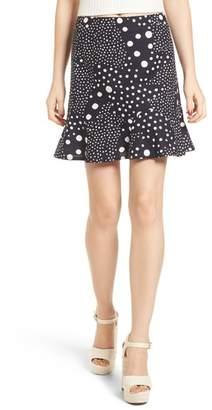 The Fifth Label Lagoon Polka Dot Miniskirt