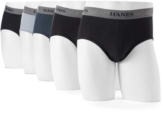 Men's Hanes Ultimate 5-pack Tagless Stretch Briefs $36 thestylecure.com