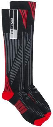 Prada patterned socks