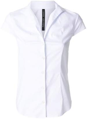 Plein Sud Jeanius open V-neck shirt