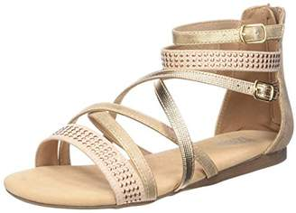 Bullboxer Girls' AED031F1S Ankle Strap Sandals