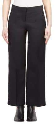 Alexander McQueen Cropped Wide-Leg Trousers