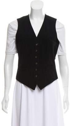 Ralph Lauren Wool Pinstripe Vest