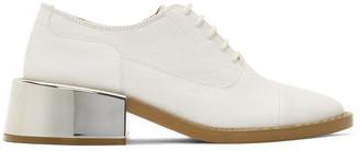 MM6 MAISON MARGIELA SSENSE Exclusive White Metal Heel Derbys
