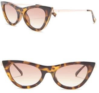Le Specs Enchantress X J Crew 47mm Retro Sunglasses