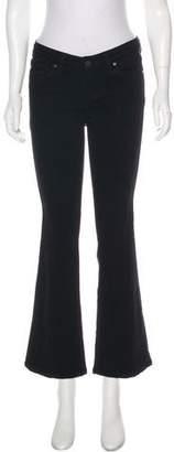 Paige Mid-Rise Flared Jeans