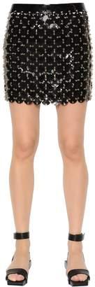 Paco Rabanne Soft Plastic Discs Mini Skirt