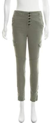 J Brand Mid-Rise Skinny Utility Pants