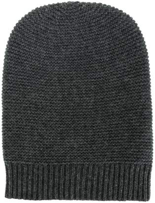 N.Peal classic fitted beanie hat