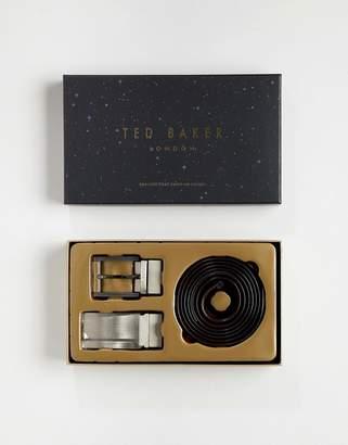 Ted Baker Burrgs 4-way reversible belt gift box