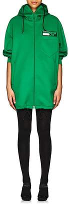 Prada Women's Tech-Jersey Oversized Hoodie Dress