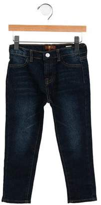 7 For All Mankind Boys' Straight-Leg Mid-Rise Jeans