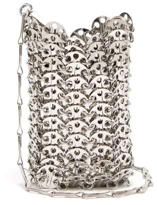 Paco Rabanne - Iconic Mini Chain Clutch - Womens - Silver