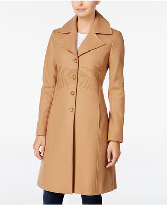 Tommy Hilfiger Wool-Blend Walker Coat $245 thestylecure.com
