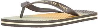 Armani Exchange A|X Men's Printed Flip Flop