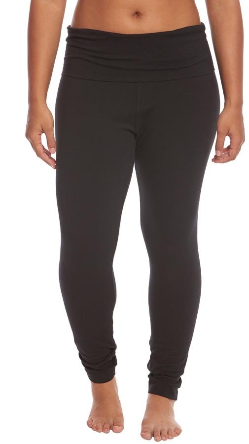 Hard Tail Plus Size Contour Rolldown Ankle Yoga Leggings 8161256