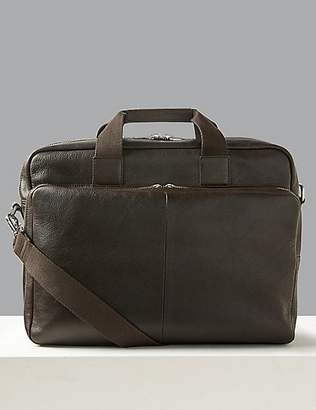 Casual Leather Briefcase