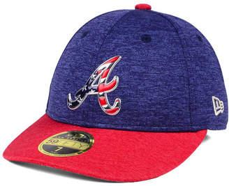 New Era Atlanta Braves Low Profile Stars & Stripes 59FIFTY Cap