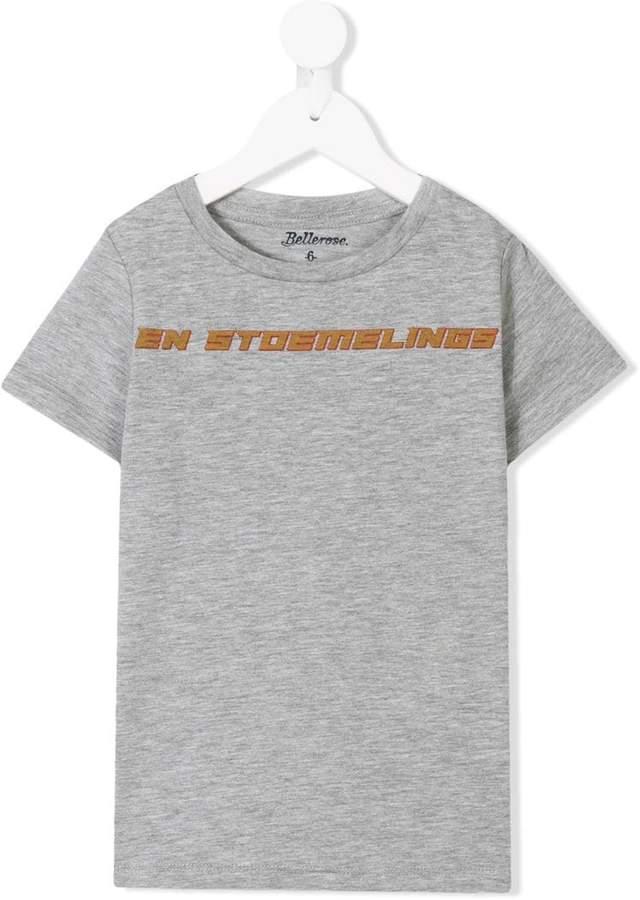 Bellerose Kids slogan print T-shirt