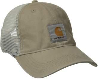 Carhartt Men's Medium Profile 100 Percent Cotton Moisture Wicking Buffalo Cap