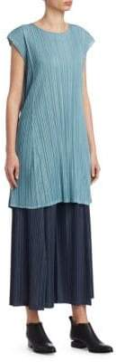 Pleats Please Issey Miyake Mellow Pleats Textured Dress