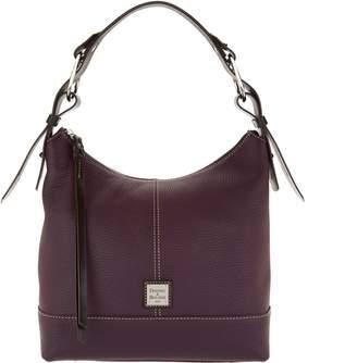 Dooney & Bourke Pebble Leather Hobo Handbag- Gracie