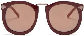Karen Walker Super Lunar round-eye acetate sunglasses