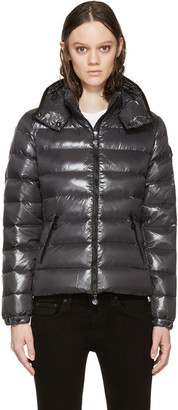 Moncler Grey Down Bady Jacket $995 thestylecure.com