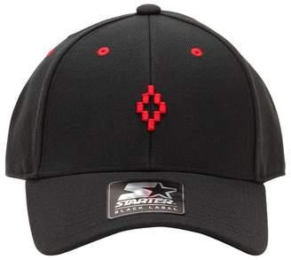 Marcelo Burlon County of Milan Starter Cruz Wool Blend Baseball Hat