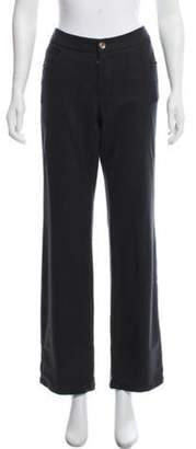 Giorgio Armani Mid-Rise Wide-Leg Pants Mid-Rise Wide-Leg Pants
