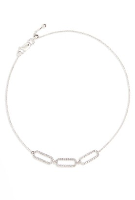 Bony Levy Triple Rounded Rectangle Diamond Adjustable Bracelet