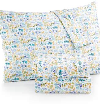bluebellgray Rowan Floral-Print Twin Sheet Set Bedding