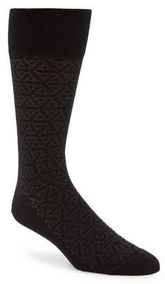 John W. Nordstrom R) Pointed Triangle Socks