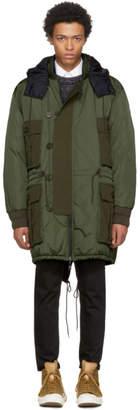Moncler Reversible Green Down Gabriel Jacket