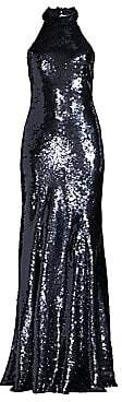 Sachin + Babi Women's Eva Sleeveless Sequin Gown