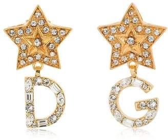 Dolce & Gabbana Stars Crystal Earrings