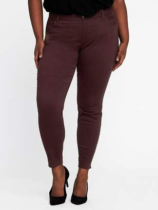 Old Navy High-Rise Secret-Slim Plus-Size Sateen Rockstar Jeans
