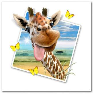 Trademark Fine Art Giraffe Picture by Howard Robinson