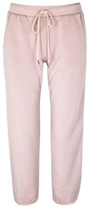 Velvet by Graham & Spencer Bretta Dusky Pink Jersey Jogging Trousers