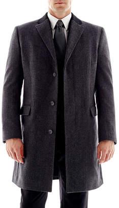 STAFFORD Stafford Contrast-Collar Topcoat