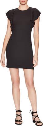 Susana Monaco Lana Gathered Cap Mini Dress