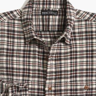 J.Crew Factory Heather flannel shirt in plaid