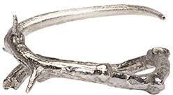 Pearls Before Swine Silver Thorn Ring $220 thestylecure.com