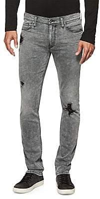 Paige Men's Lennox Distressed Skinny Jeans