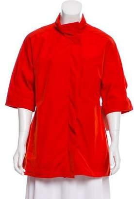 Lela Rose Short Sleeve Casual Jacket